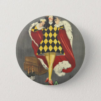 Imbibed by Royalty 2 Inch Round Button