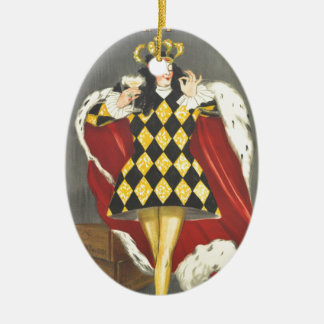 Imbibed by Royalty Ceramic Ornament
