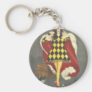 Imbibed by Royalty Keychain