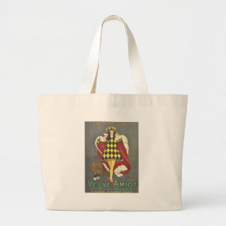 Imbibed by Royalty Large Tote Bag