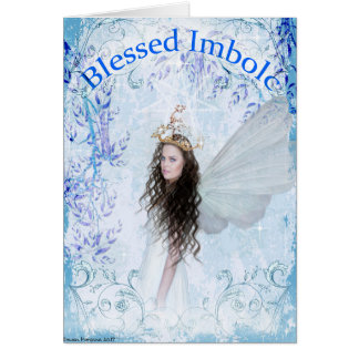 Imbolc Blessings Greeting Card
