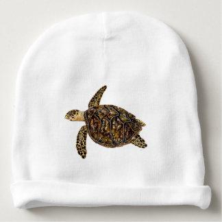 Imbricata turtle baby beanie