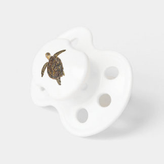 Imbricata turtle pacifier