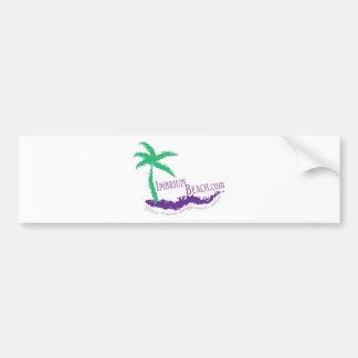 Imbrium Beach Logo Wear Bumper Sticker