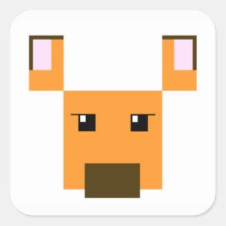 imdoe Square Sticker
