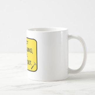 I'me not trespassing, I'm a Geologist. Coffee Mug