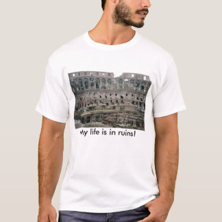 IMG2, My life is in ruins! T-Shirt