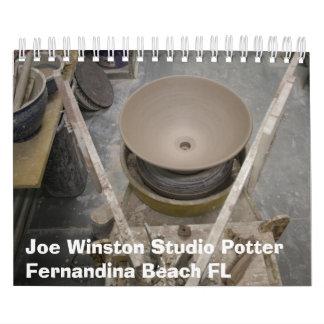 IMG_0015, Joe Winston Studio Potter Fernandina ... Calendars
