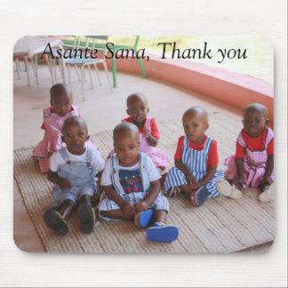 IMG_0061, Asante Sana, Thank you Mouse Pad