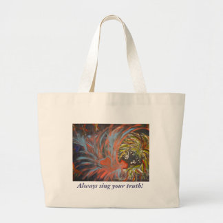 IMG_0145, Always sing your truth! Large Tote Bag