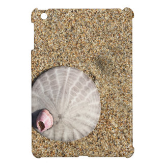 IMG_0578.JPG  Sandollar seashell on beach iPad Mini Cover