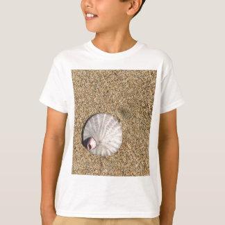 IMG_0578.JPG  Sandollar seashell on beach T-Shirt