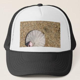 IMG_0578.JPG  Sandollar seashell on beach Trucker Hat