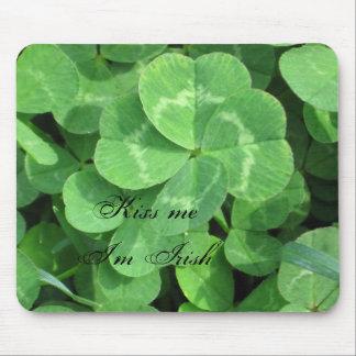 IMG_0604, Kiss me I'm Irish Mouse Pad