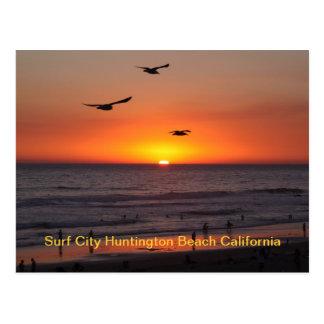 IMG_0725, Surf City Huntington Beach California Postcard