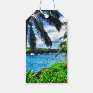 IMG_1122 4 Hawaiian Scene Gift Tags