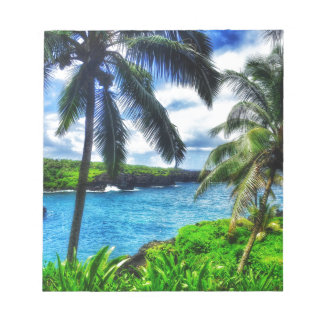 IMG_1122 4 Hawaiian Scene Notepad