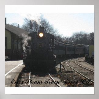 IMG_1245, Essex Steam Train   Essex, CT Poster