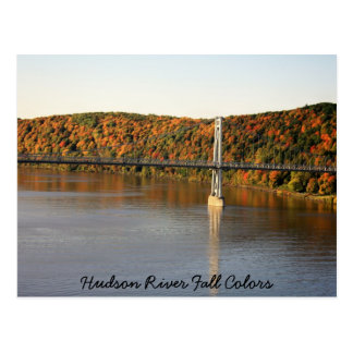 IMG_1493, Hudson River Fall Colors Postcard