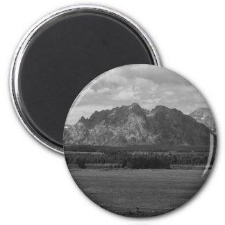 IMG_1510_black and white 2 Inch Round Magnet