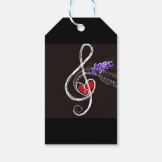 IMG_1857.JPG customizable  Music note designed Pack Of Gift Tags