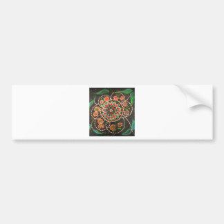 IMG_2481.jpg an elegant floral design Bumper Sticker