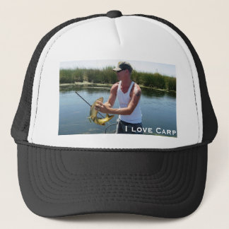 IMG_2702, I love Carp  - CarpKillers Inc. Trucker Hat