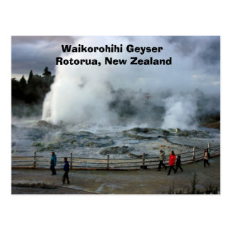 IMG_4274, Waikorohihi Geyser Rotorua, New Zealand Postcard