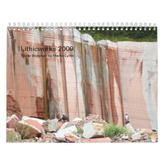 IMG_6691, Lithicworks 2009, Stone Sculpture by ... Wall Calendar