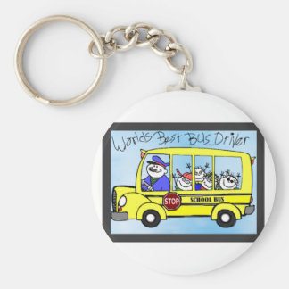 IMG_7017.PNG bus driver appreciation gifts Basic Round Button Keychain