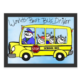 IMG_7017.PNG bus driver appreciation gifts Postcard
