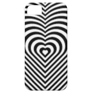 IMG_7745.PNG.customizable Heart maze design iPhone 5 Case