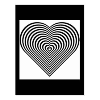 IMG_7745.PNG.customizable Heart maze design Postcard