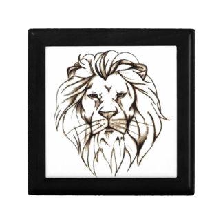 IMG_7779.PNG brave lion design Gift Box