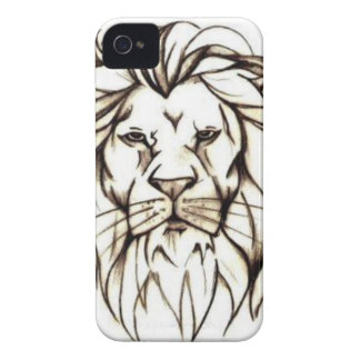 IMG_7779.PNG brave lion design iPhone 4 Cover