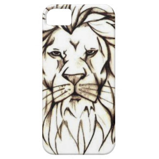 IMG_7779.PNG brave lion design iPhone 5 Covers