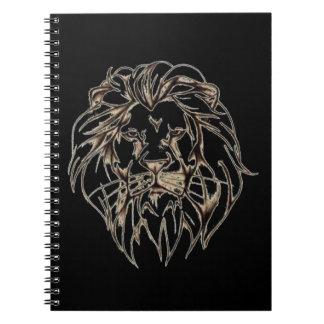IMG_7779.PNG brave lion design Notebook
