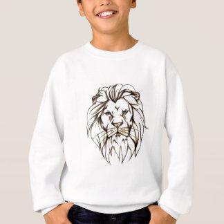IMG_7779.PNG brave lion design Sweatshirt
