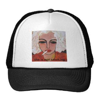 IMG_7794, she is not smoking Trucker Hat