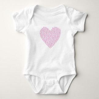 IMHM Heart BabyWEAR Baby Bodysuit