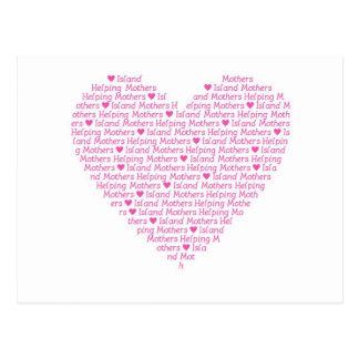 IMHM Heart Postcard
