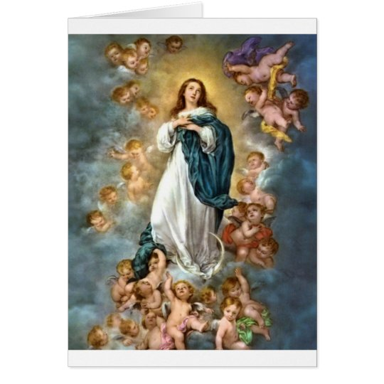 Immaculate Conception of Mary Card