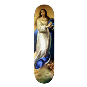Immaculate Conception of Virgin Mary - Murillo Skateboard