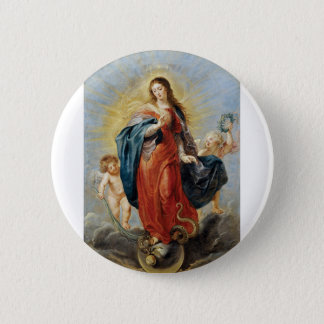 Immaculate Conception - Peter Paul Rubens 2 Inch Round Button
