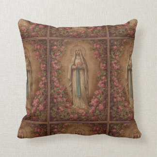 Immaculate Conception Throw Pillow