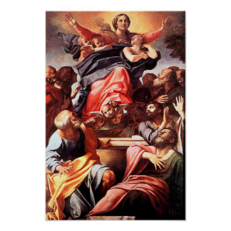 Immaculate Conception Virgin Mary Assumption 01 Poster