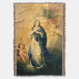 Immaculate Conception Virgin Mary Assumption 02 Throw