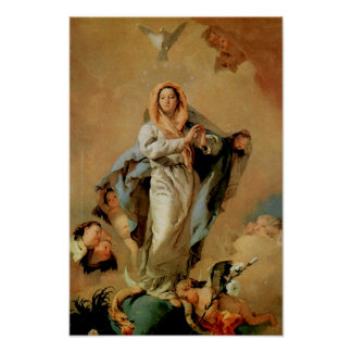 Immaculate Conception Virgin Mary Assumption 07 Poster