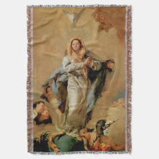 Immaculate Conception Virgin Mary Assumption 07 Throw Blanket