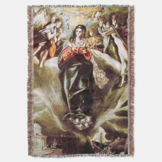 Immaculate Conception Virgin Mary Assumption 09 Throw Blanket